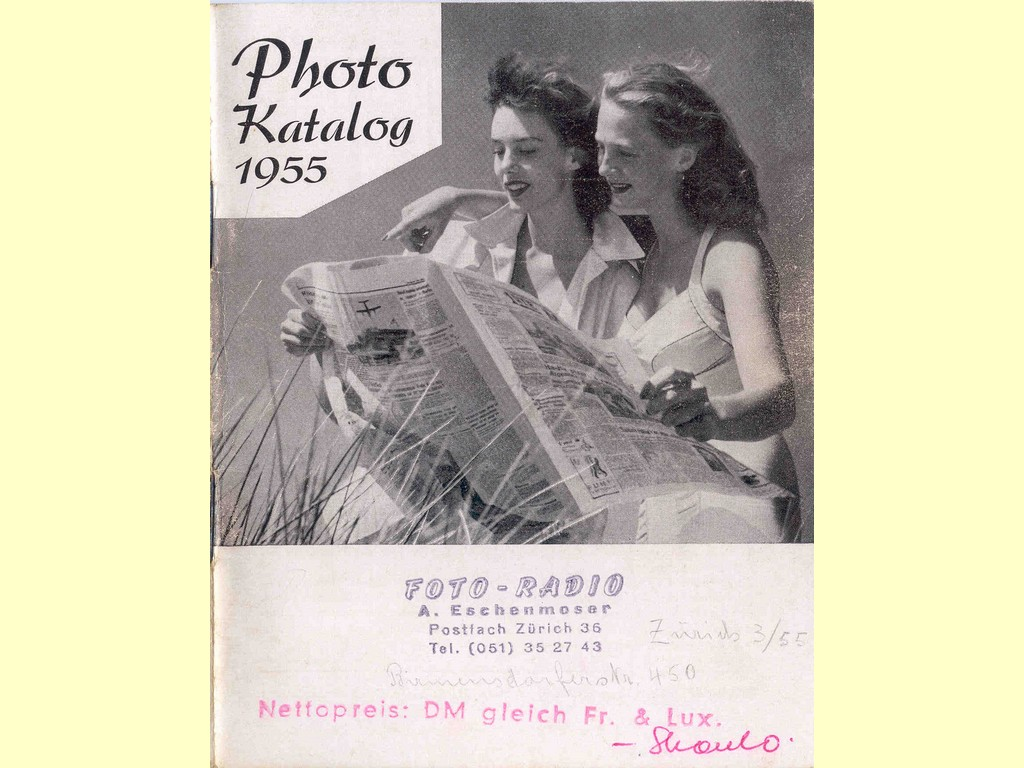Photo Katalog 1955  -  unbekannt