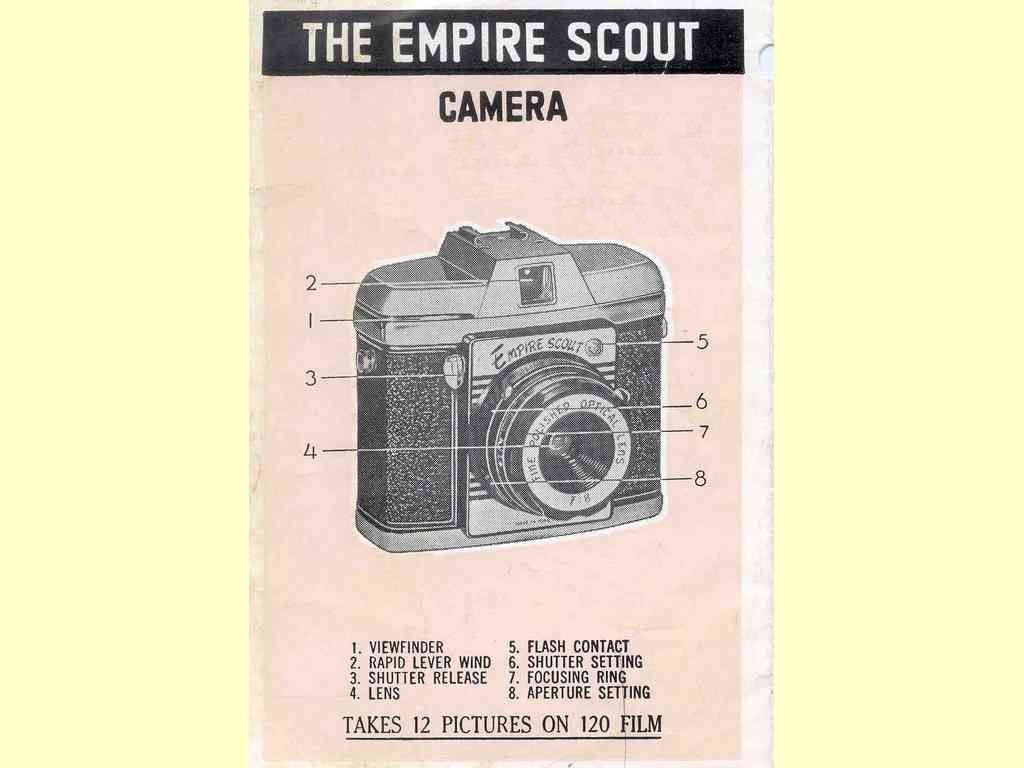 The Empire Scout Camera  -  unbekannt