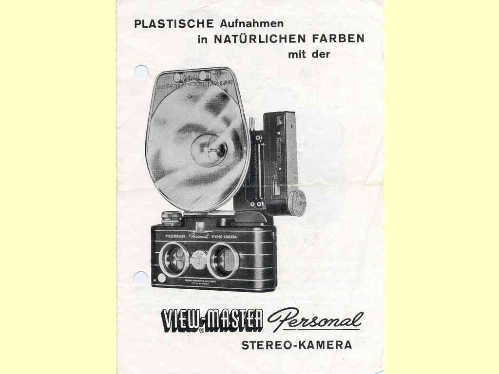 View-Master Personal Stereo-Kamera  -  unbekannt