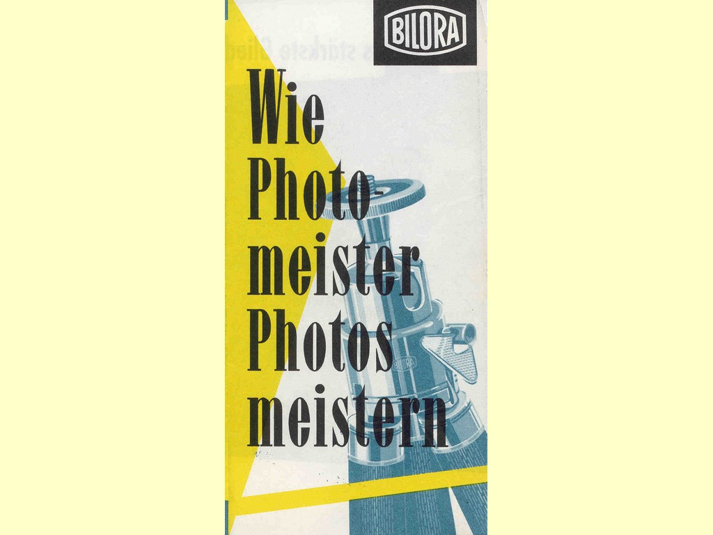 Wie Photomeister Photos meistern  -  unbekannt