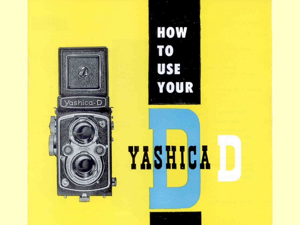 How to use your Yashica D  -  unbekannt