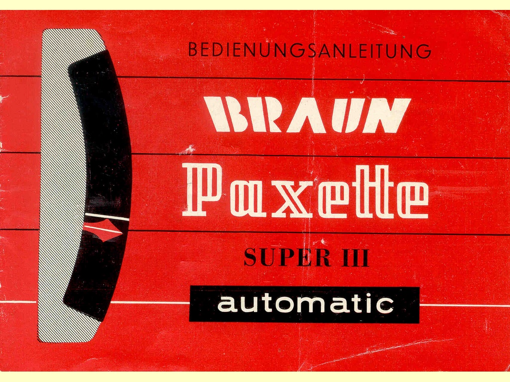Paxette automatic Super III   -  7 61 / 3 d