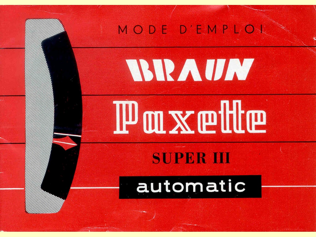 Paxette automatic Super III   -  11.61 / 1 fr.