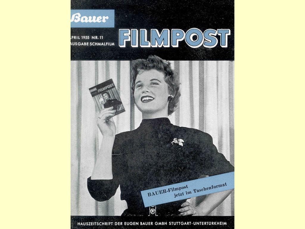 Bauer Filmpost  -  April 1955 Nr. 11