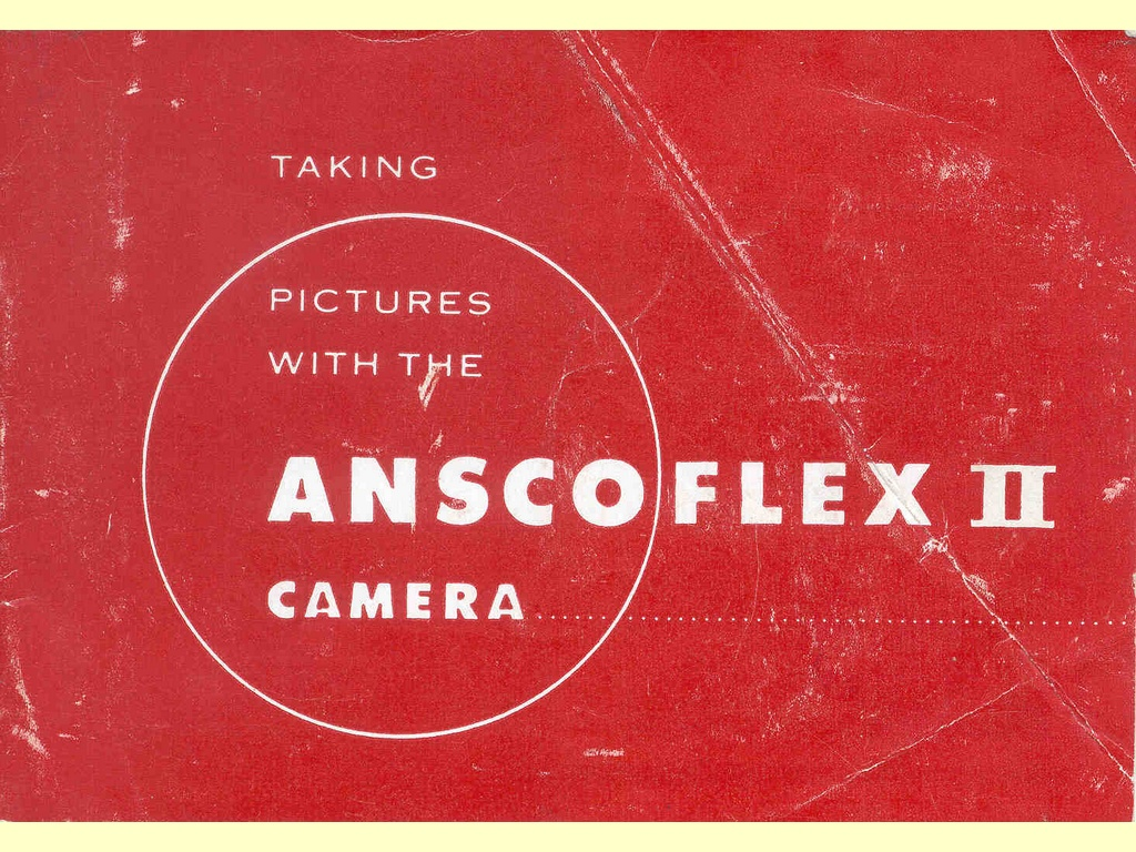 Taking pictures with the Anscoflex II Camera  -  C-10559-2 - 76