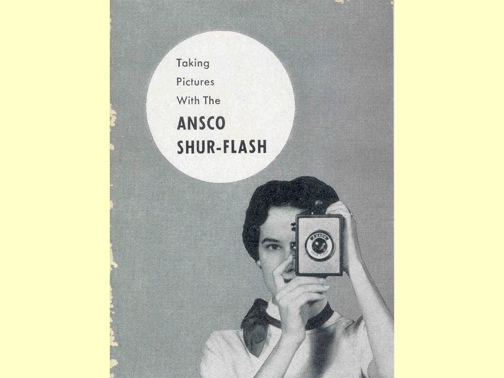 Taking pictures with the Ansco Shur-Flash  -  C-9805-1 - 103