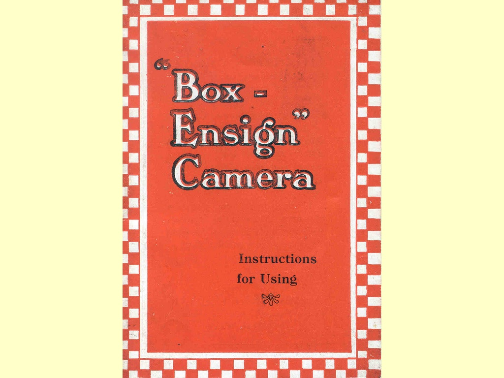 Box Ensign Camera…  -  unbekannt