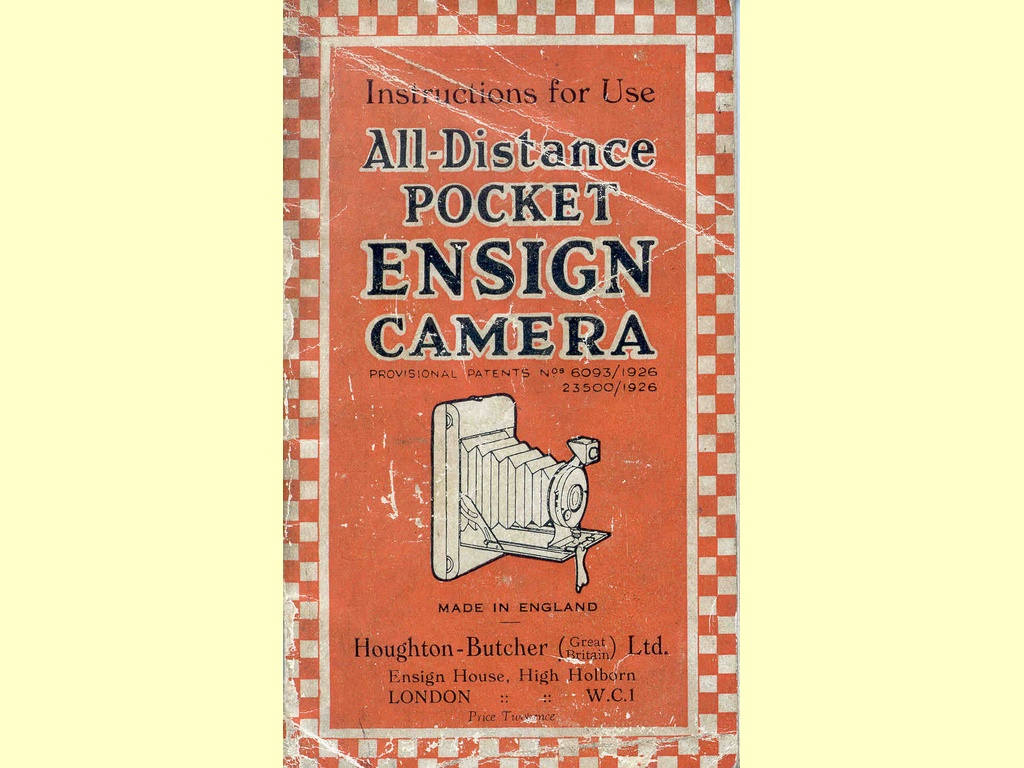 All-Distance Pocket Ensign Camera  -  unbekannt