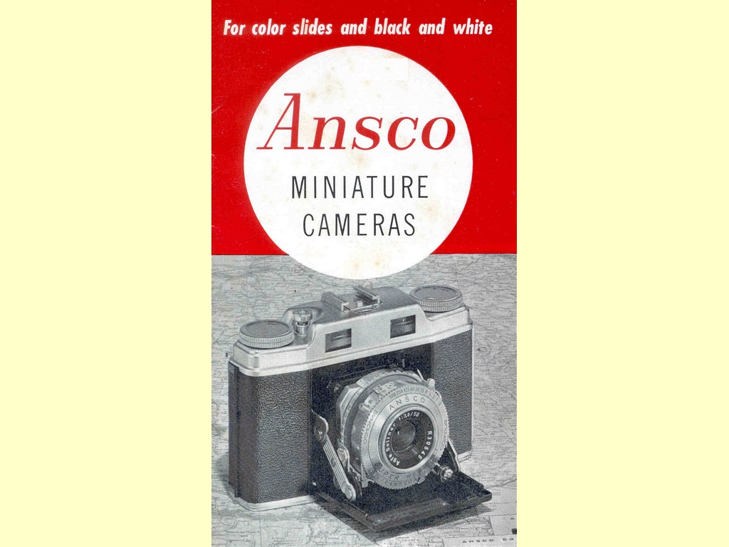 Ansco Miniature Cameras  -  B52-95