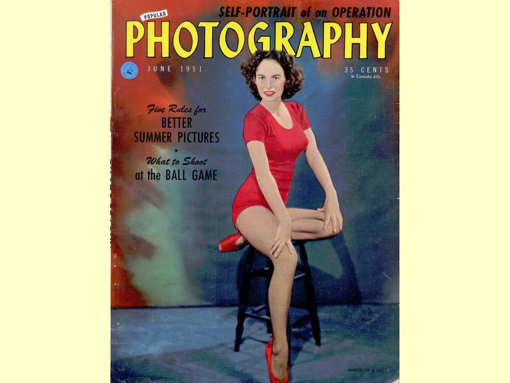 Popular Photography  -  June 1951