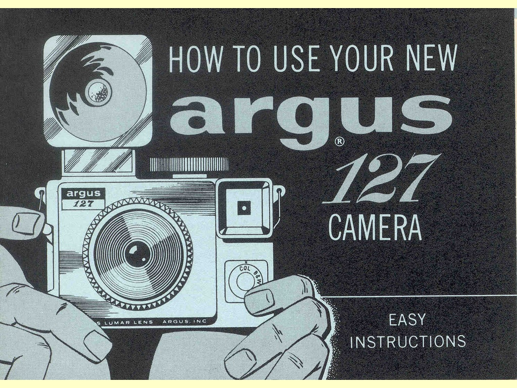 How to use your new Argus 127 Camera  -  Part No. 9317-1-633