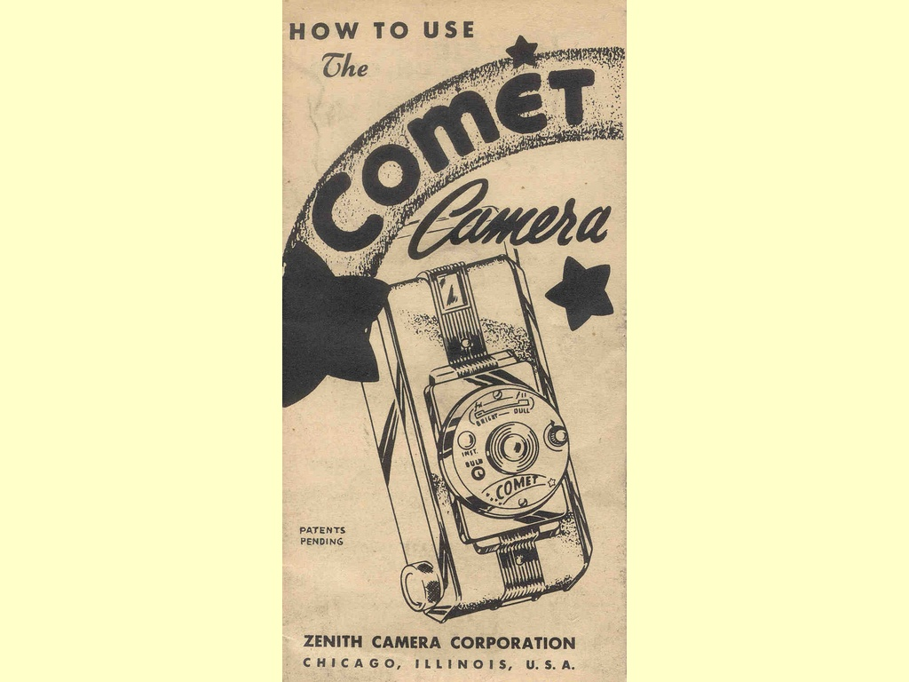 How to use the Comet Camera  -  unbekannt