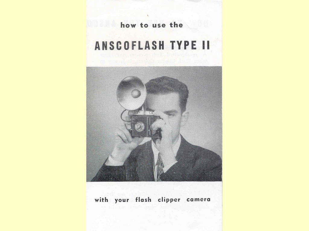 How to use your Anscoflash Type II  -  117 - C7924