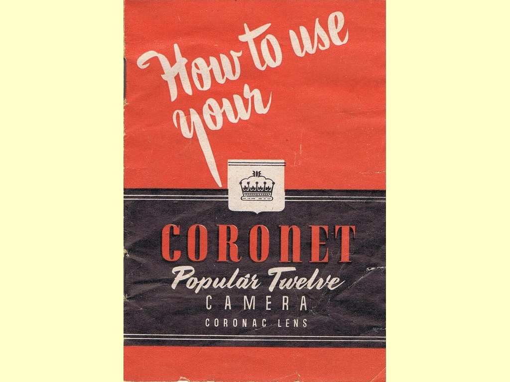 How to use your Coronet Popular Twelve Camera  -  PT45/551