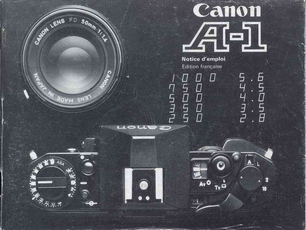 Canon A-1  -  ZB1.1601N.FO 0180 - 1980