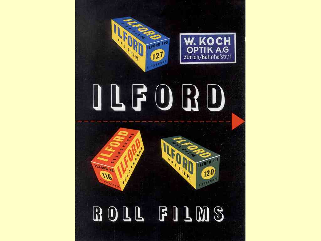 Ilford Roll Films  -  IF/H54/S (x)