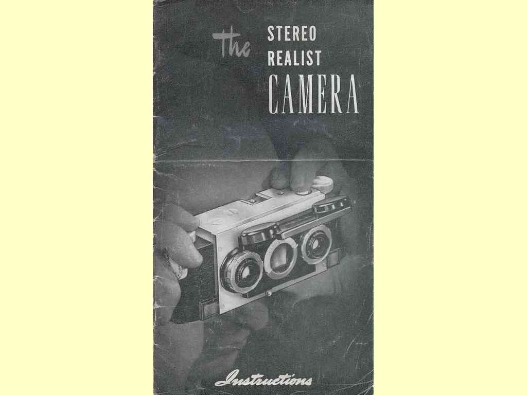 The Stereo Realist Camera  -  ST-41-80