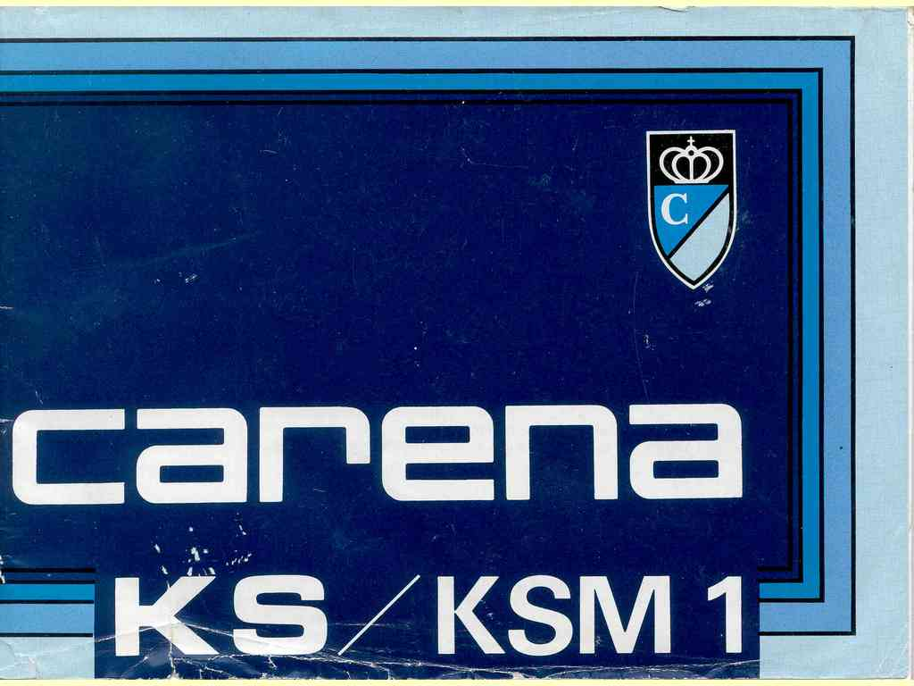 Carena KS/KSM 1  -  7810-5SW (120/121AC)