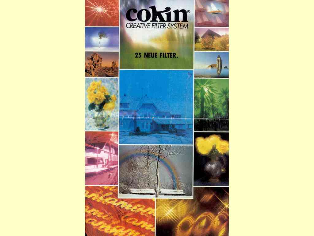 Cokin Creative Filter System  -  7.82