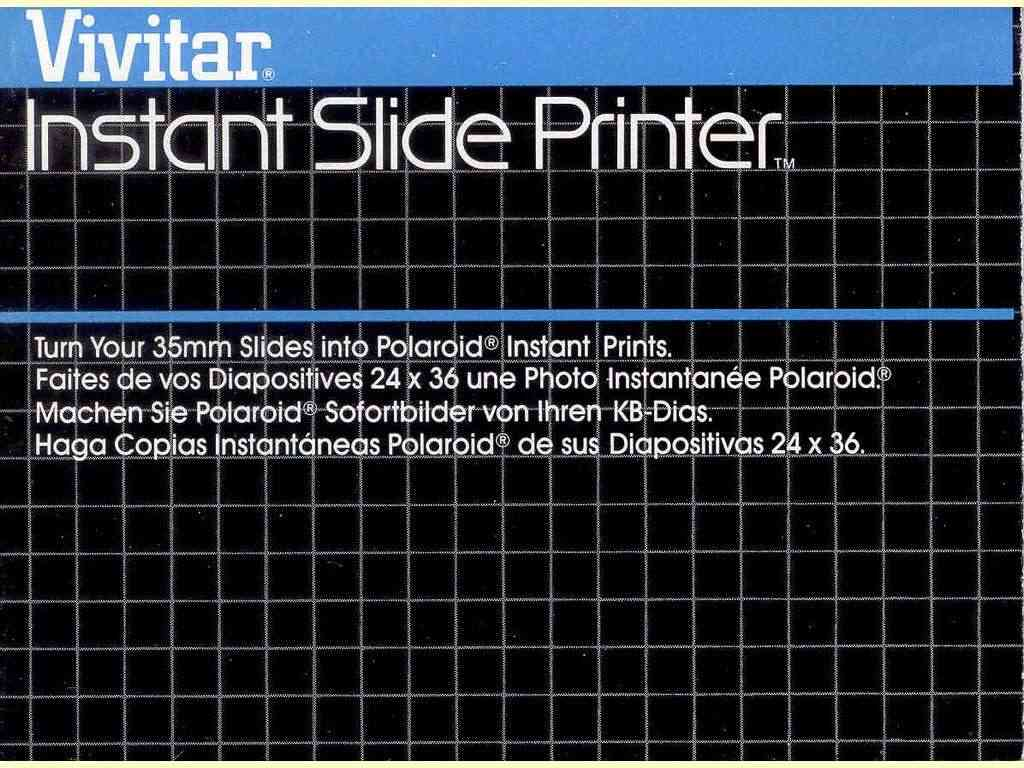 Instant Slide Printer  -  unbekannt